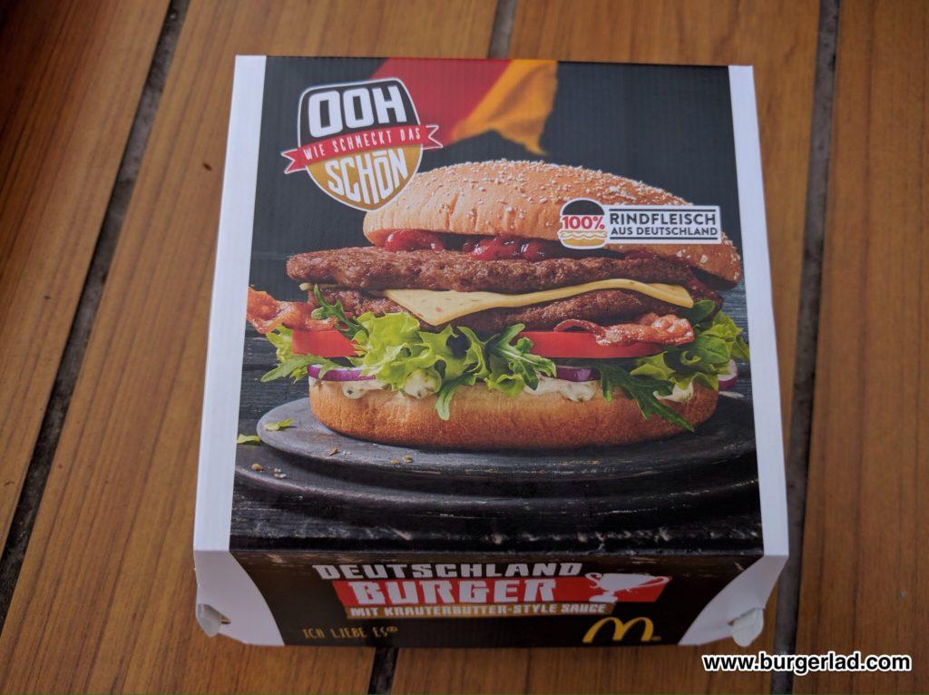 Deutschland Burger Mc Donalds