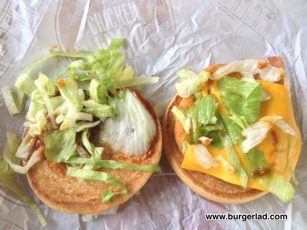 McDonald's BBQ Chicken BLC