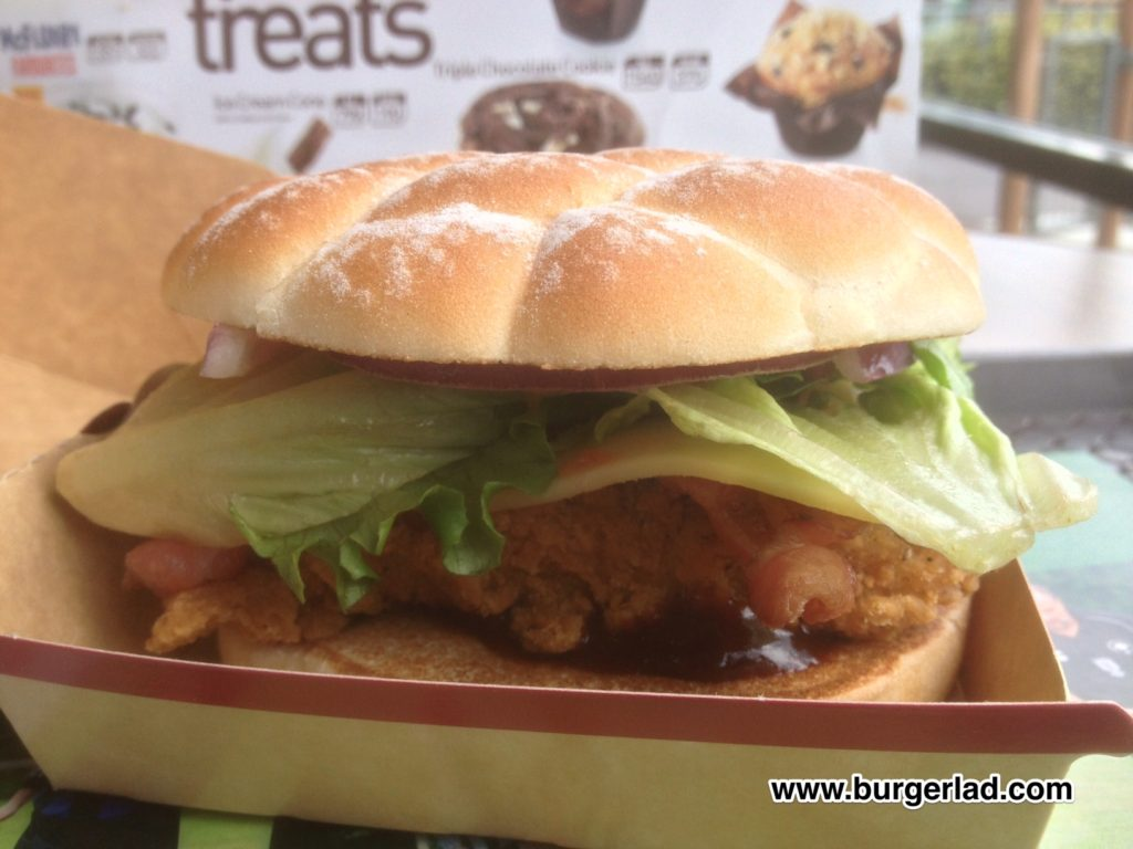 McDonald's Chicken BBQ Smokehouse