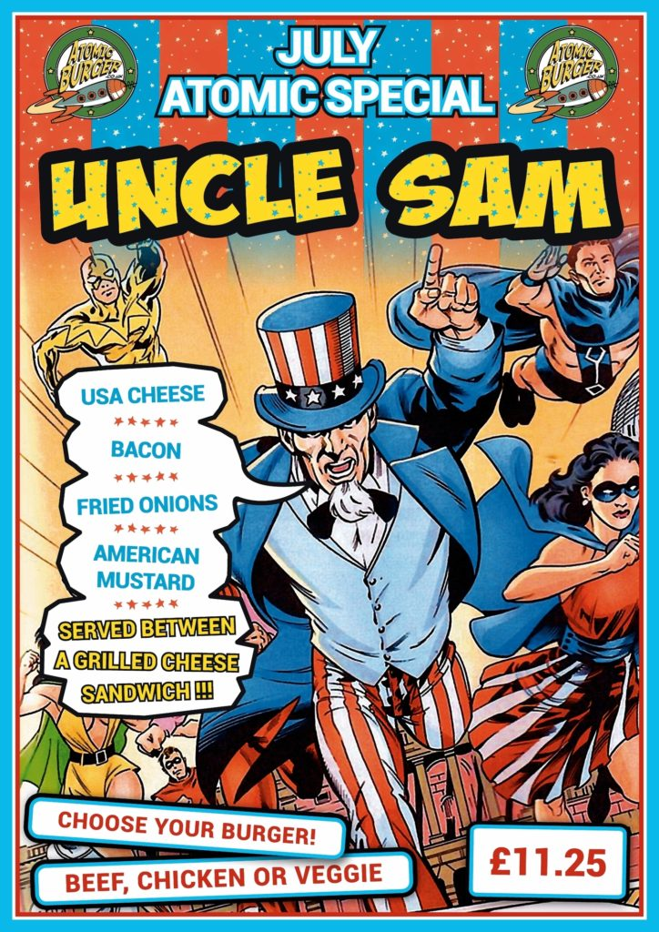 Atomic Burger Uncle Sam