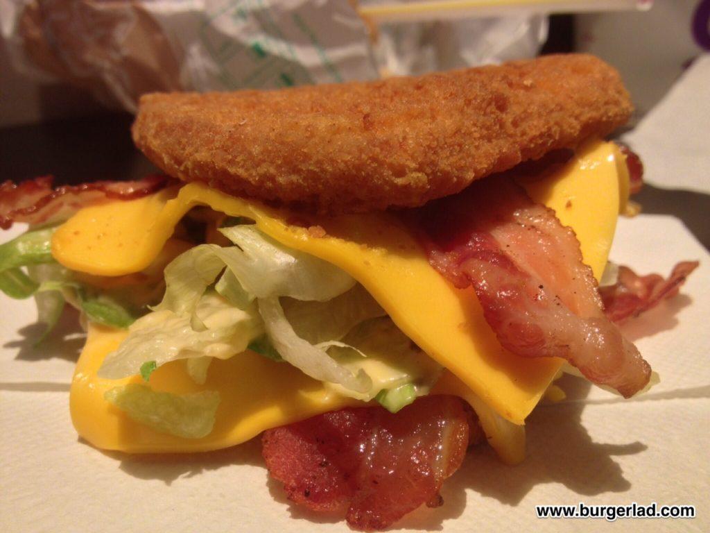 Mcdonalds Double Down Burger Menu Hack Burger Lad