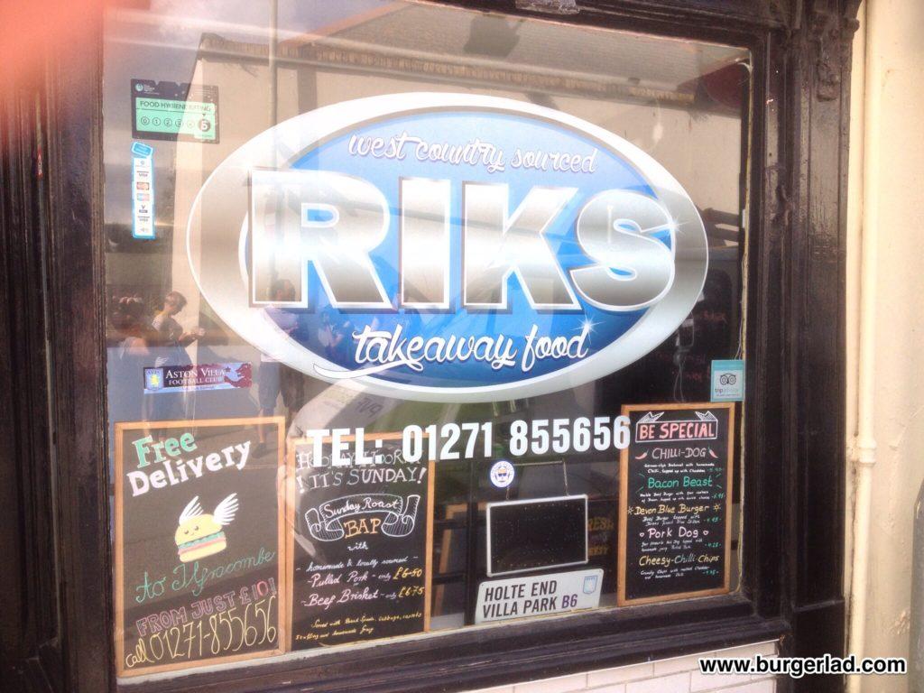 Riks Takeaway Ilfracombe