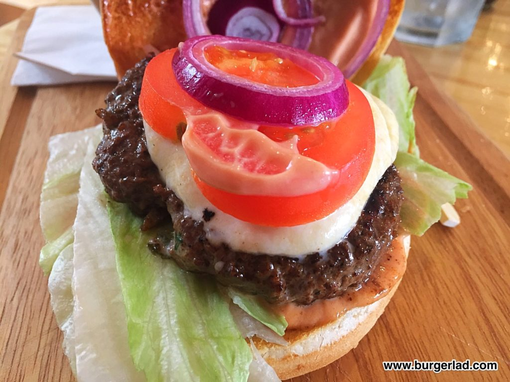 Montagues Blackpool Homemade Beef Burger