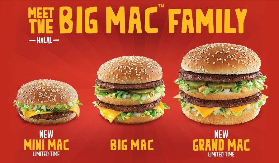 McDonald's Big Mac Family