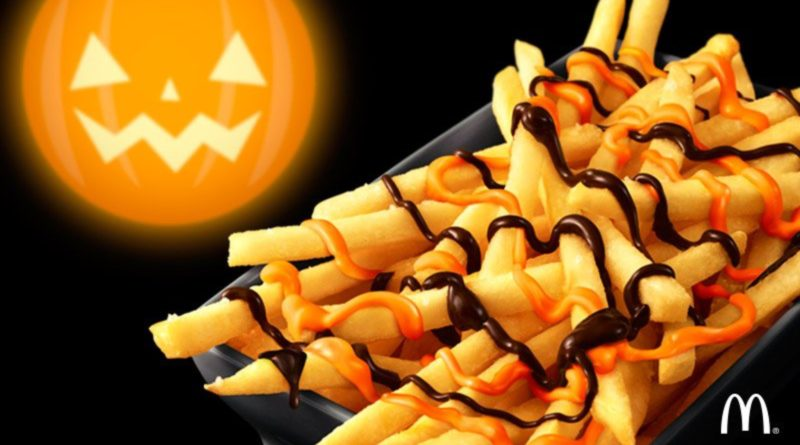McDonald's Pumpkin Chocolate Fries