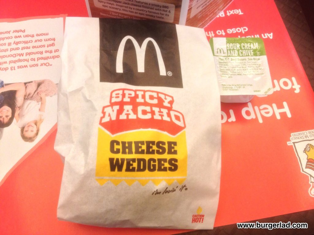 McDonald's Spicy Nacho Cheese Wedges