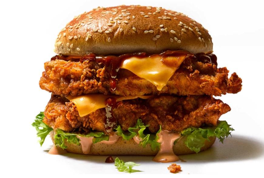 Original mcdonalds burger