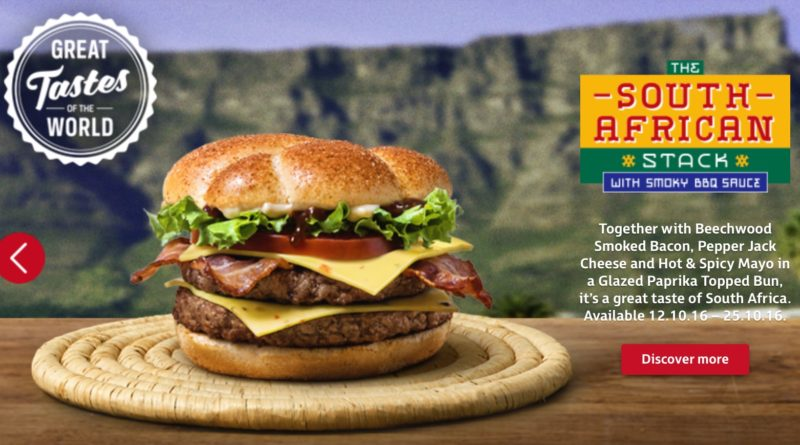 McDonald's South African Stack