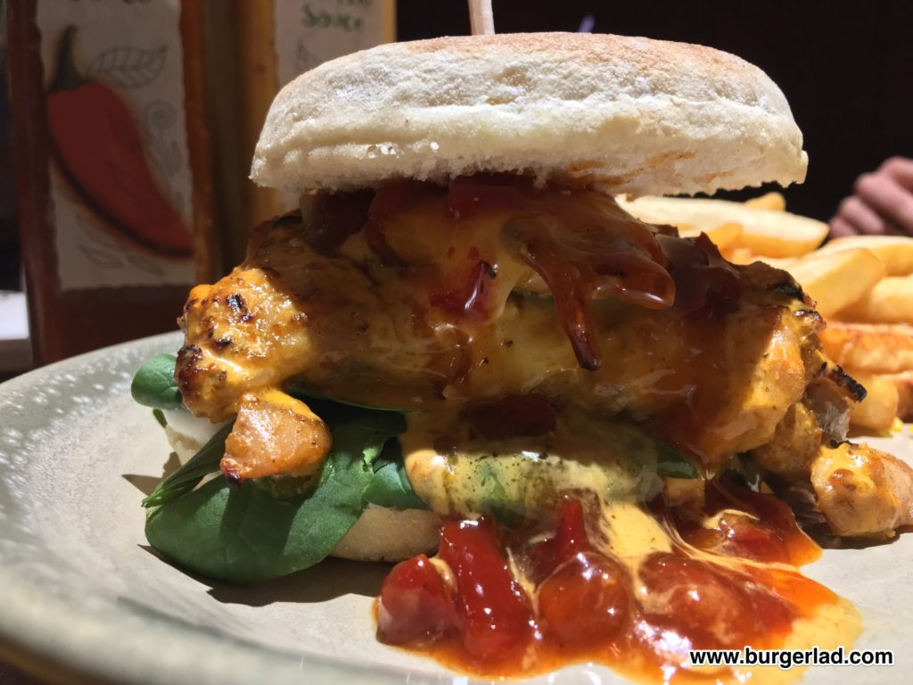 Nando's PERi-Berry Burger