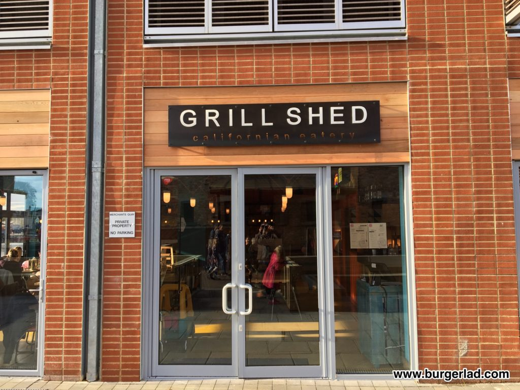 Grill Shed Gloucester Inferno Burger