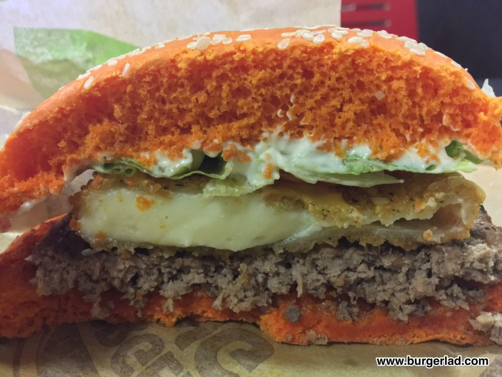 Burger King Cheddar Whopper