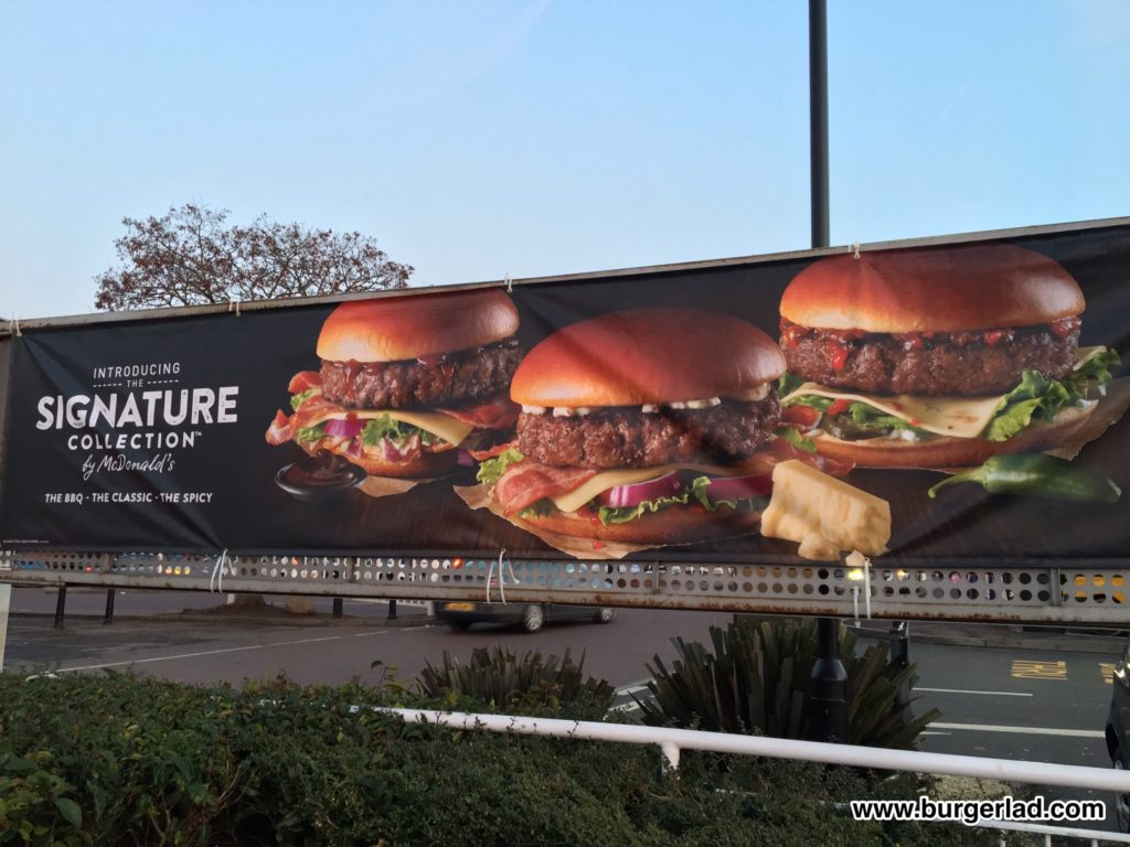 McDonald's Signature Collection - The Spicy
