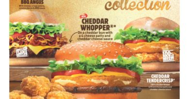 Burger King Cheddar Collection