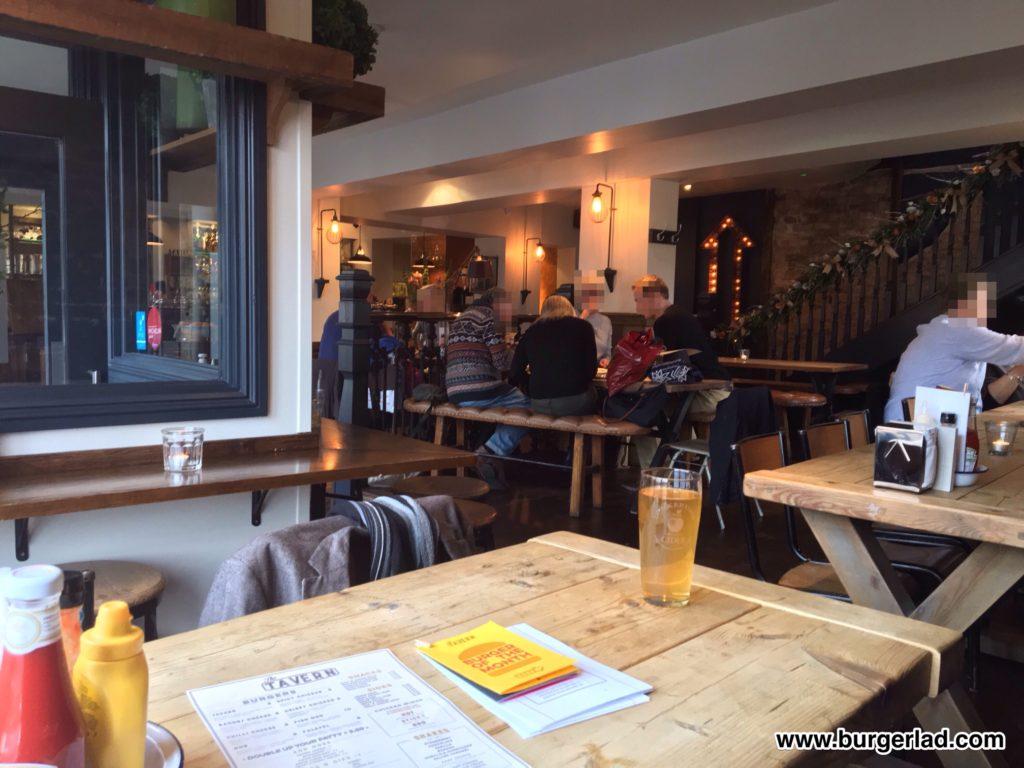 The Tavern Cheltenham Chilli Cheese Burger