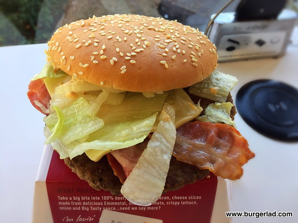 McDonald's Big Tasty with Bacon
