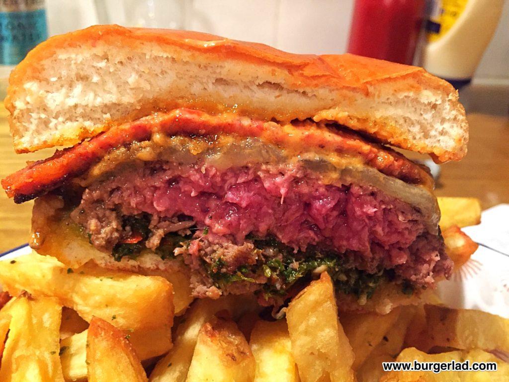 Honest Burgers Chimichurri