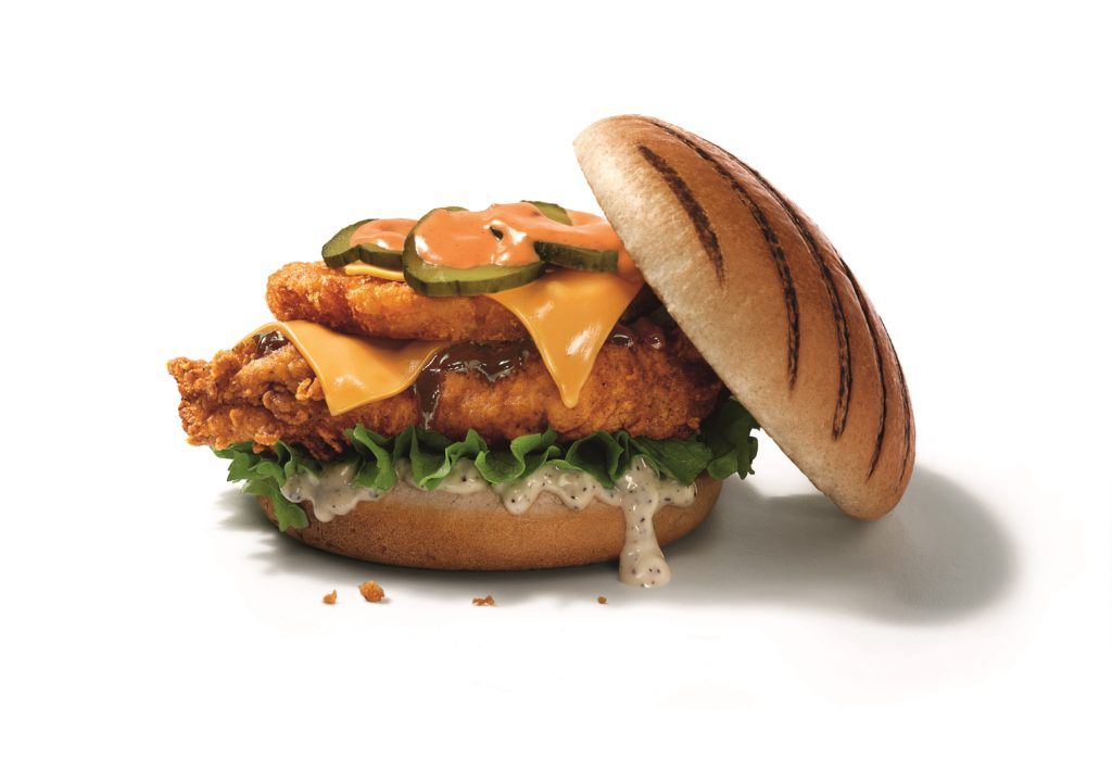 KFC Dirty Louisiana Burger