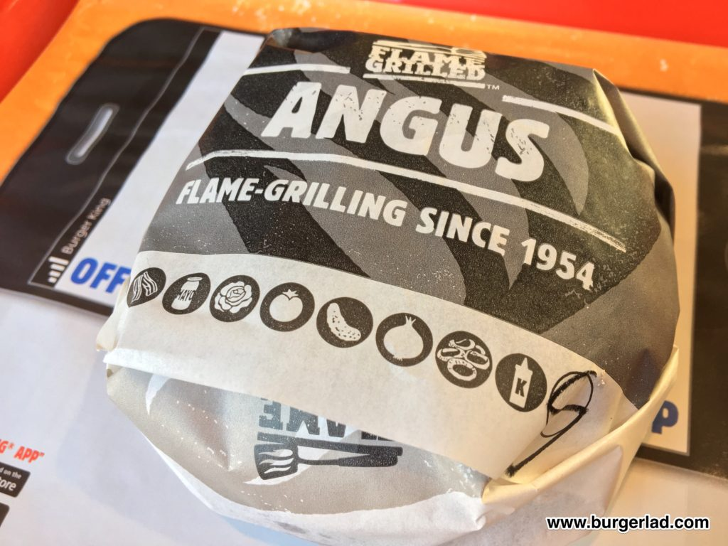 Burger King Smokey Baconnaise Angus
