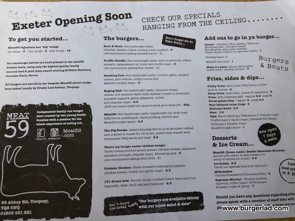 Meat59 Torquay Truffle Shuffle Burger Review