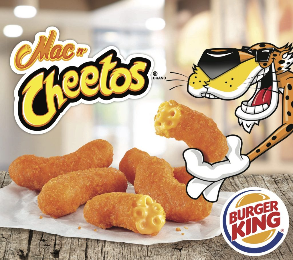 Burger King Mac N Cheetos