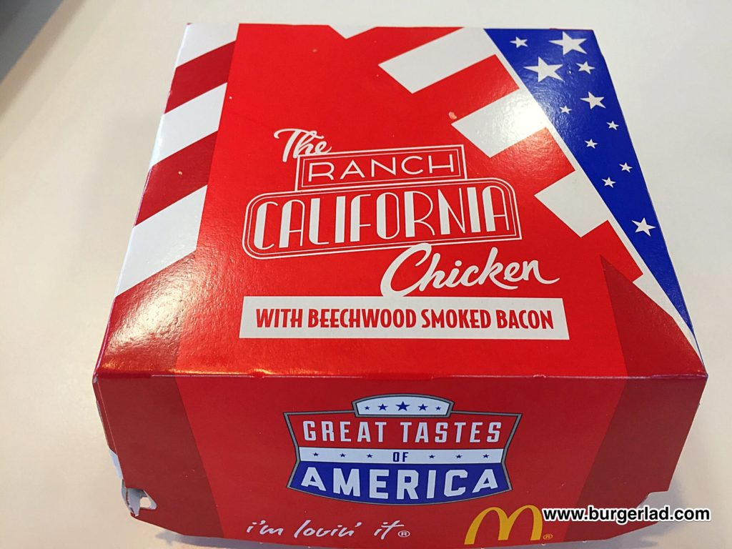 McDonald's Ranch California Chicken