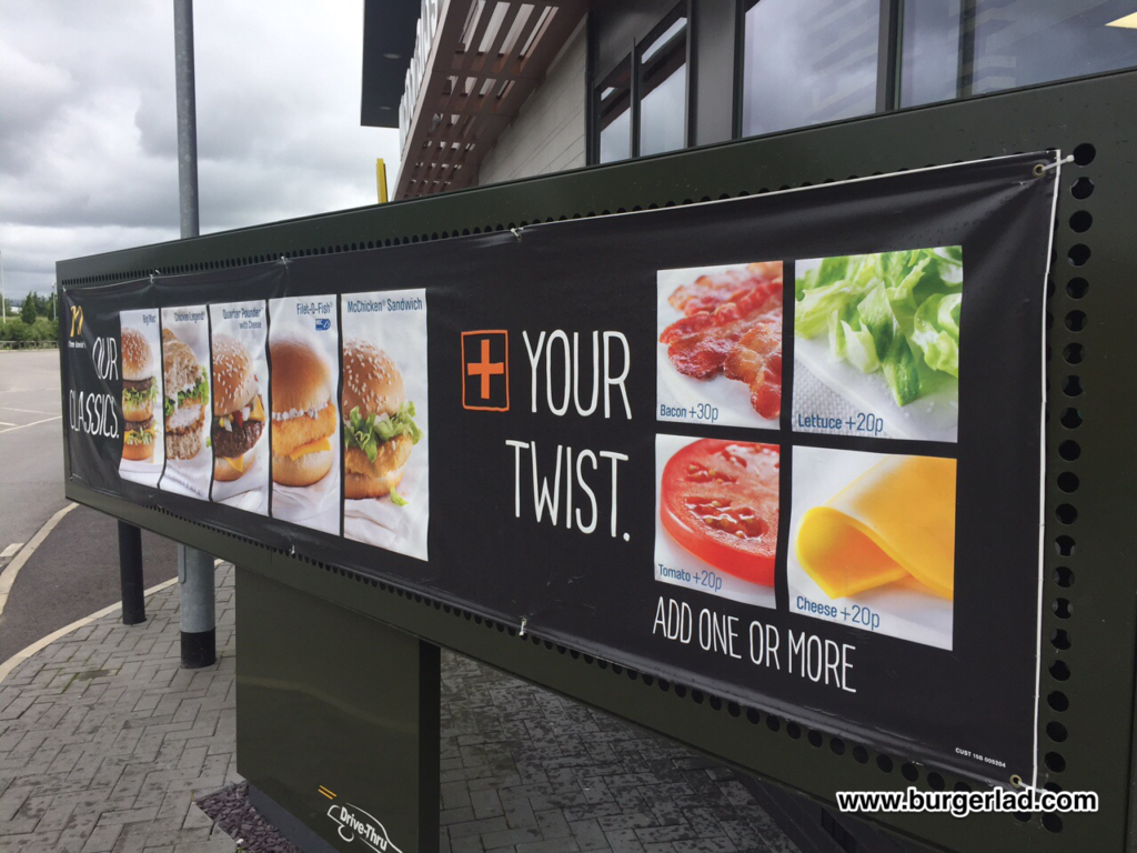McDonald's Add Your Twist
