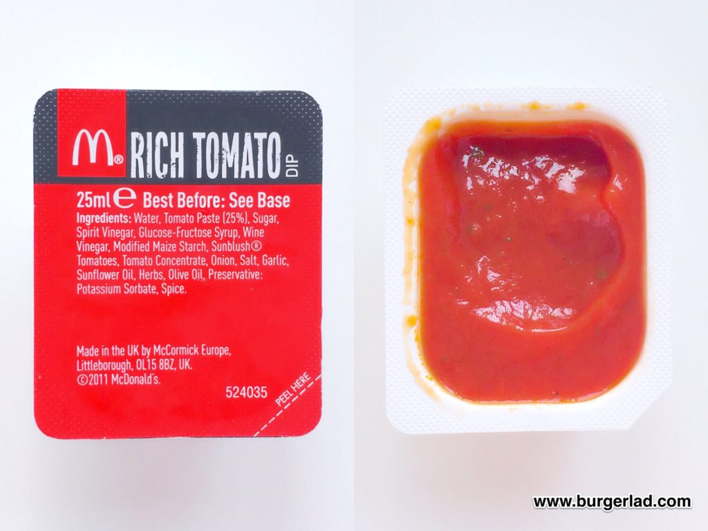 McDonald's Rich Tomato Dip