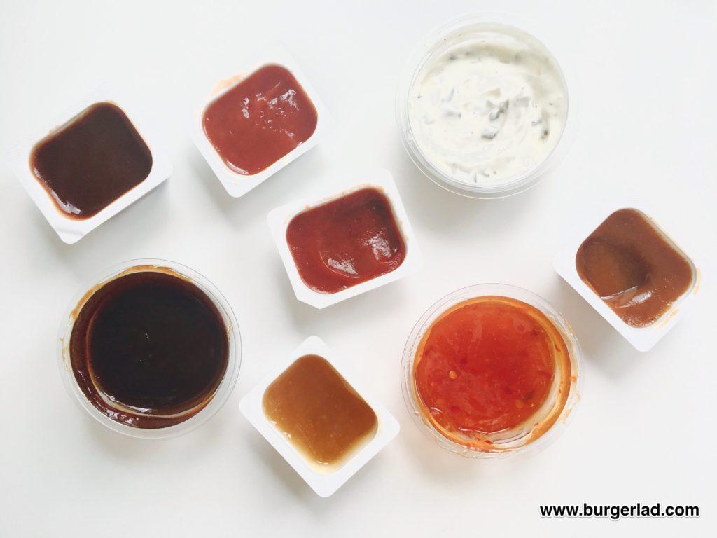McDonald's Sauces UK