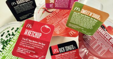 McDonald's Sauces UK