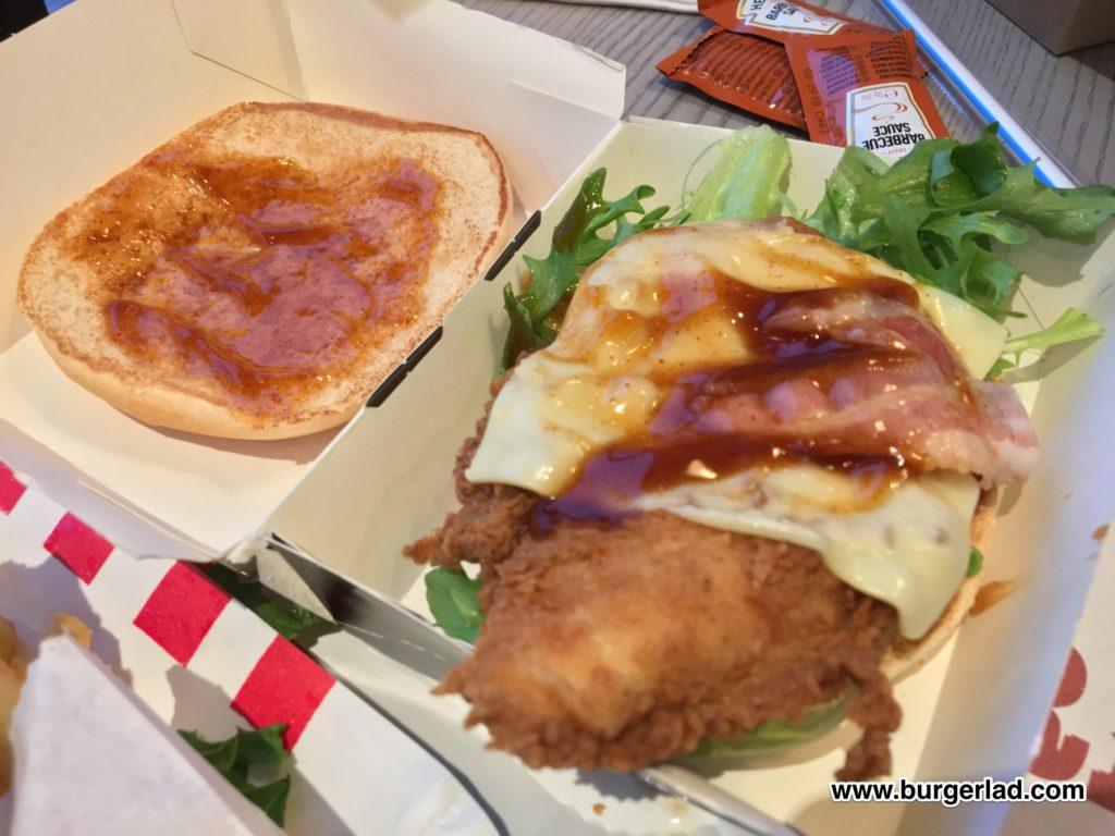 KFC Tennessee Jack Burger
