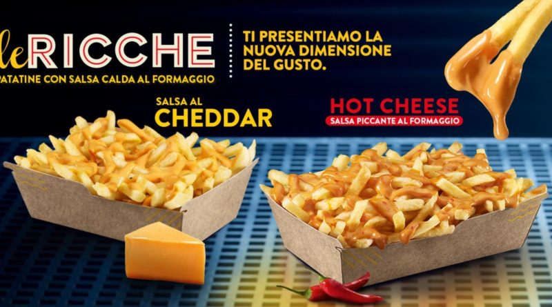 McDonald's Le Ricche Hot Cheese
