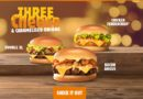 Burger King Three Cheese & Caramelised Onions