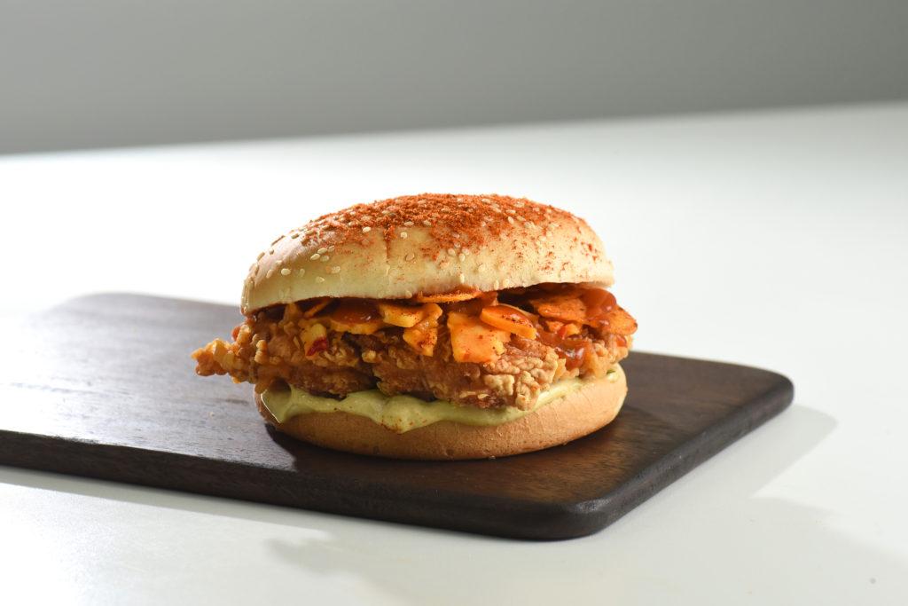 KFC El Diablo Burger