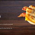 Cheesy Bacon Flatbread