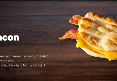 McDonald's Cheesy Bacon Flatbread Review