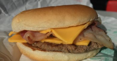 McDonald's Bacon Double Cheeseburger