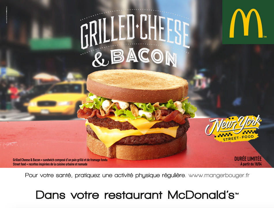 McDonald's New York Street Food