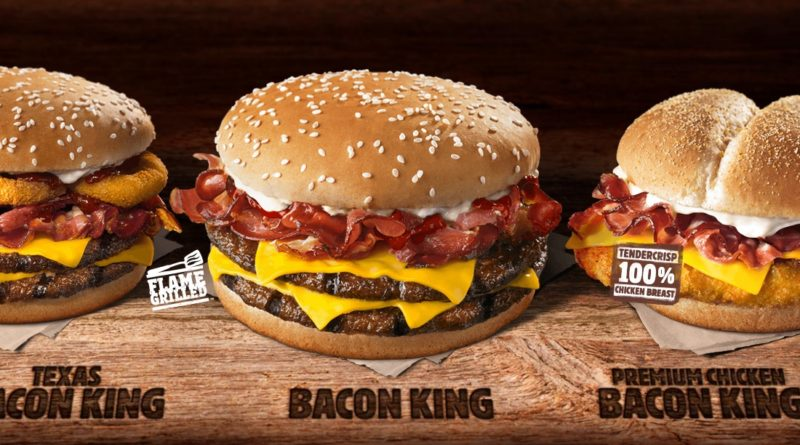 Burger King Bacon King UK