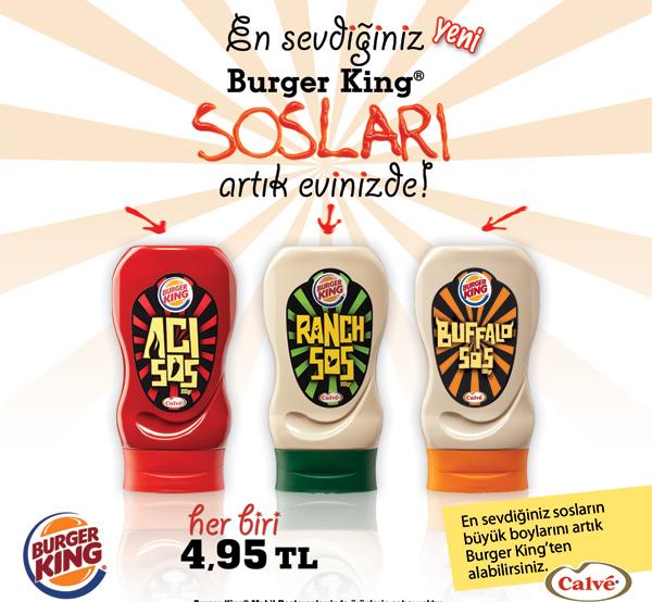 Burger King Sauces