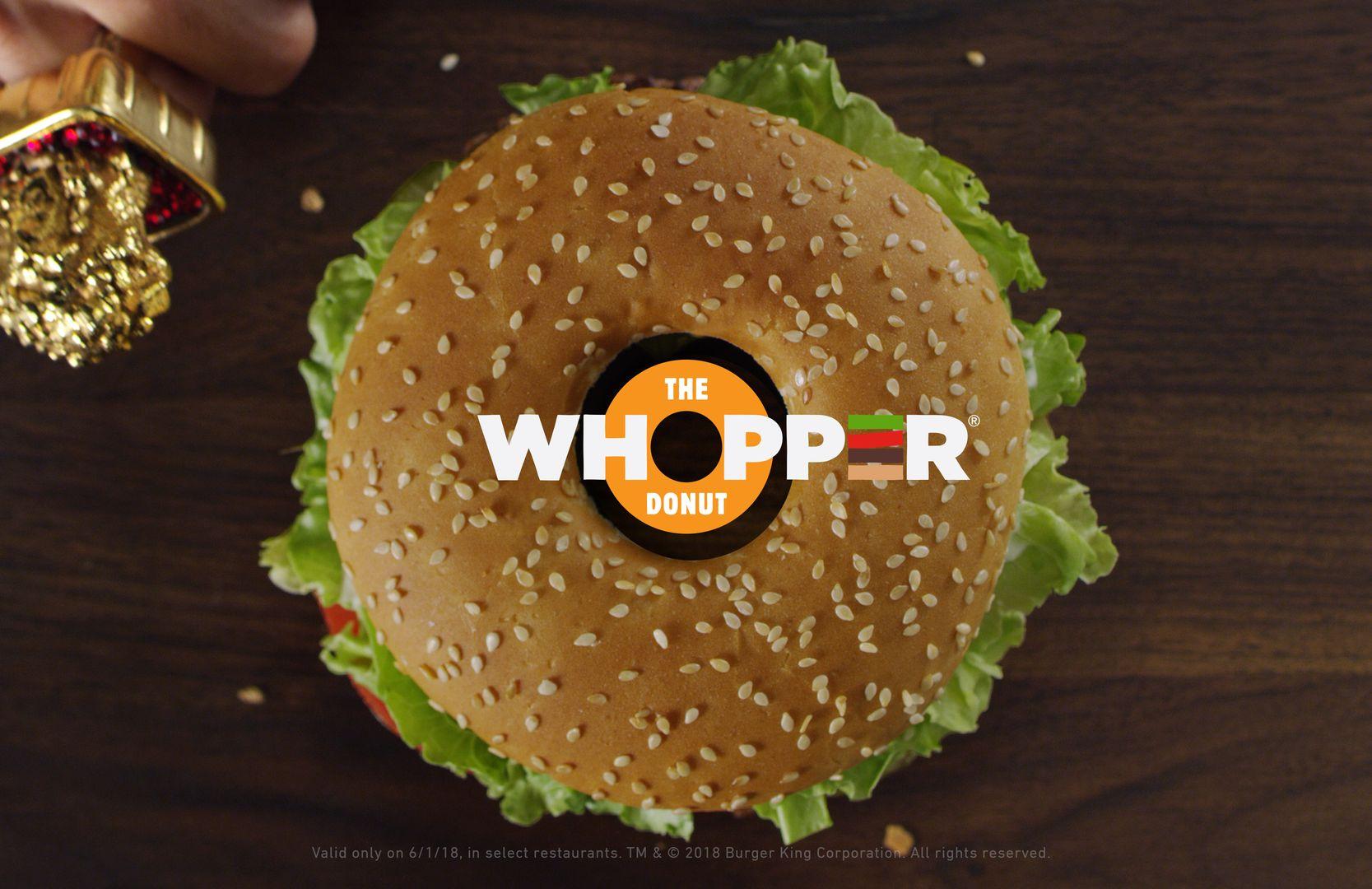 Burger King Whopper Donut