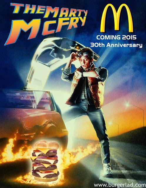 Burger Lad Marty McFry Burger