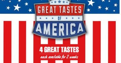 McDonald's Great Tastes of America 2017