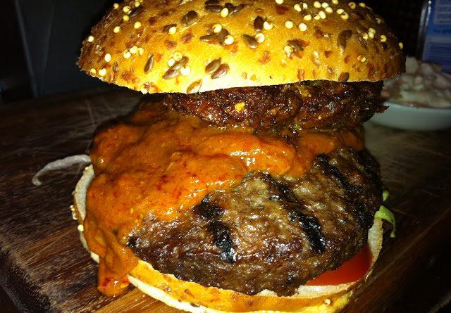 Slug & Lettuce Bombay Burger