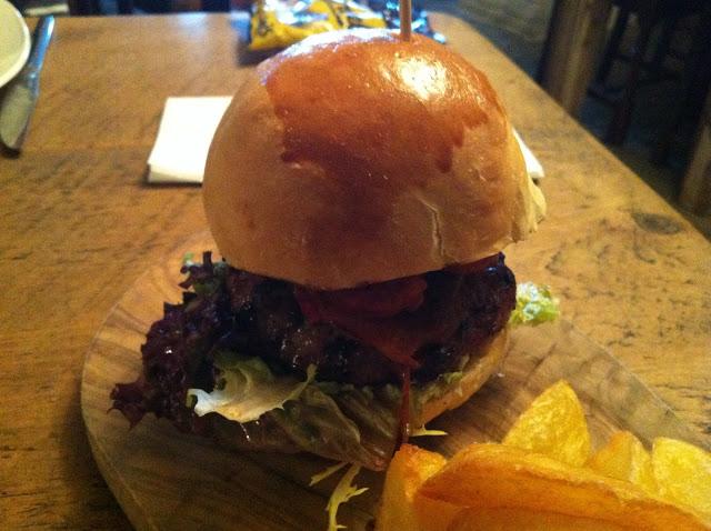 The Old Rec Wild Boar Burger