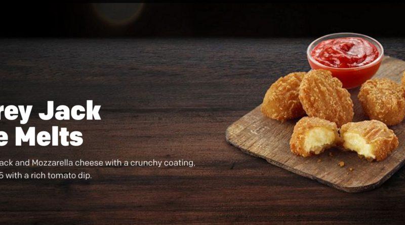 McDonald's Monterey Jack Cheese Melts