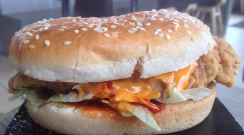 KFC Hottest Zinger Burger