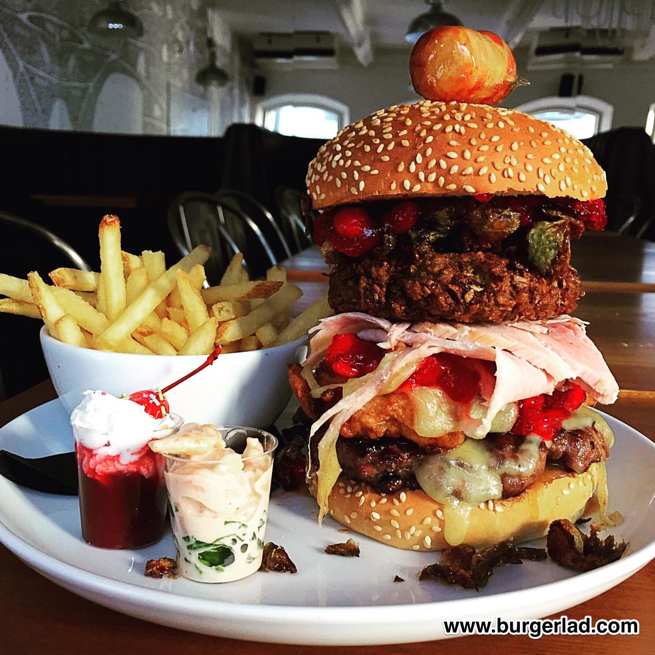 Solita Christmas Burger 2016 Review