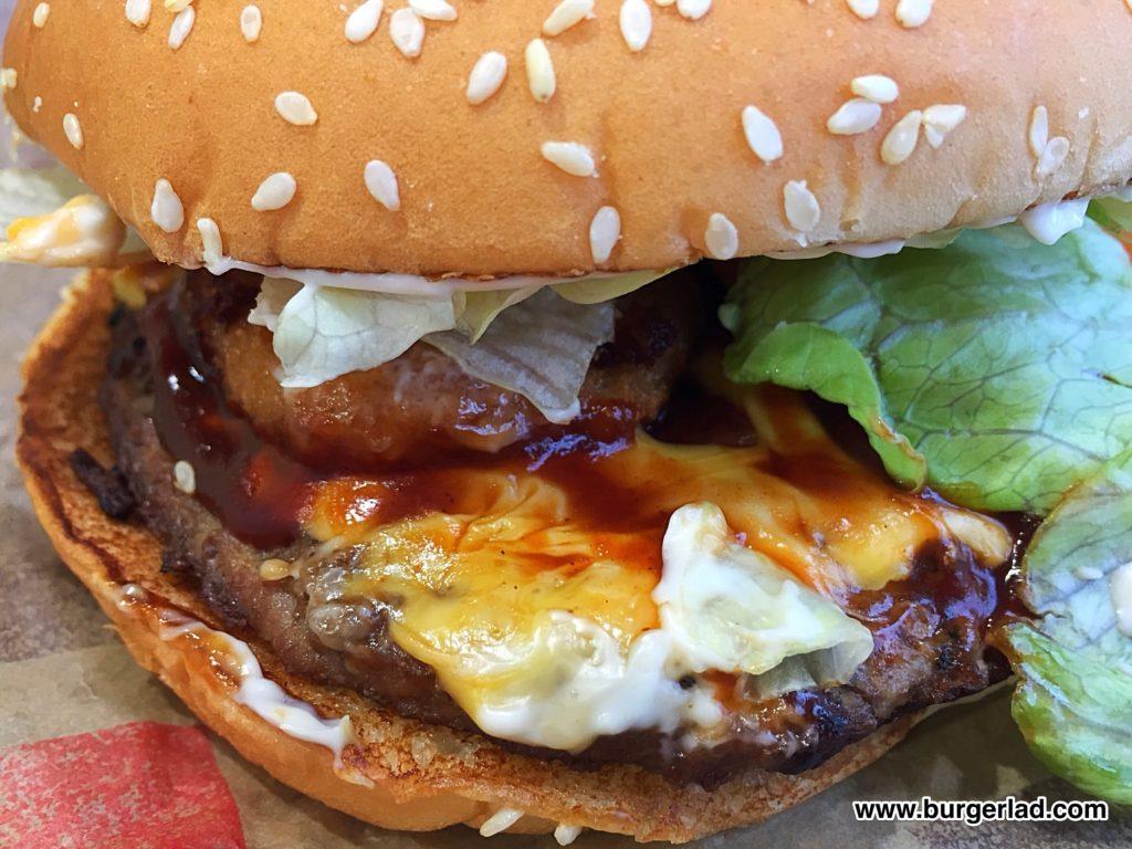 Burger King Texas Cheddar Whopper