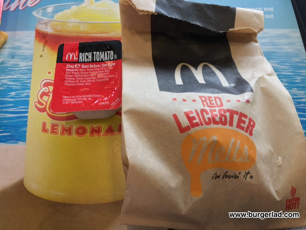 McDonald's Red Leicester Melts
