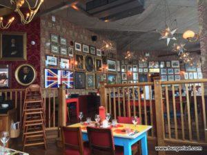 Cosy Club Cheltenham Thai Veggie Burger